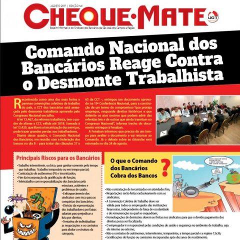 Jornal Cheque Mate Agosto 2017