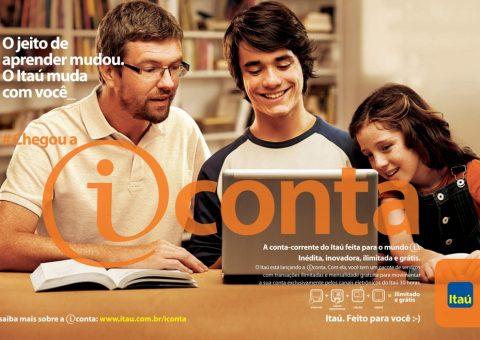 taú deixa de oferecer conta digital gratuita, a iConta, para clientes
