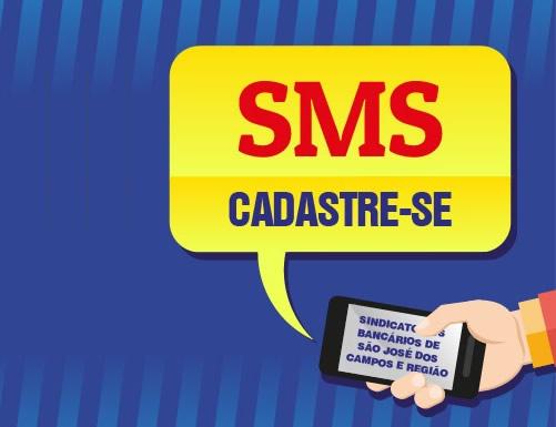 SMS Cadastre-se