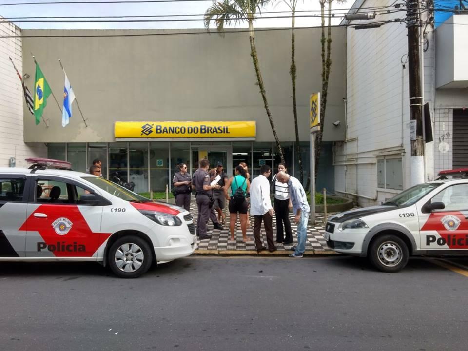 Agência do Banco do Brasil de Caraguatatuba é furtada durante a madrugada