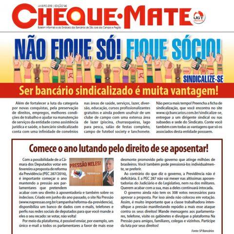 Jornal Cheque Mate Janeiro 2018