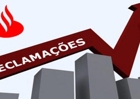 Santander lidera ranking de reclamações do BC no 4º trimestre de 2017