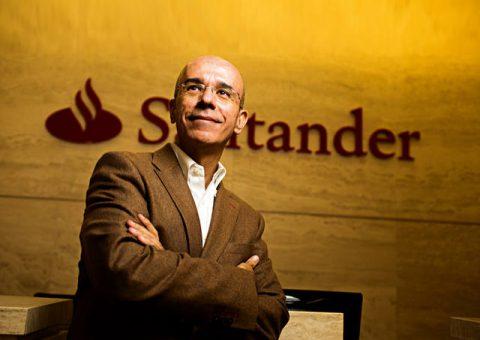 Entrevista com o presidente do Santander, Sérgio Rial